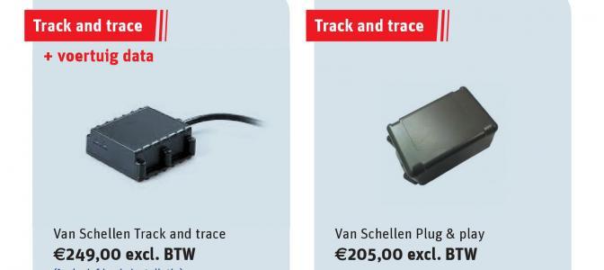 track en trace achterkant flyer