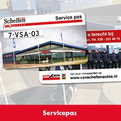 Service Van Schellen Auto's 250x250